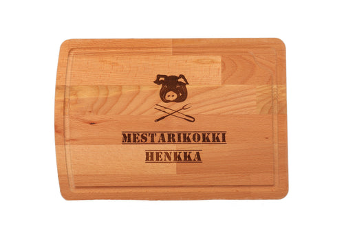 leikkuulauta personoitava puinen personalized wooden chopping board