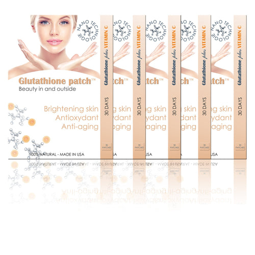 glutathion vitamine patch éclaircissant peau antioxydant injection alternative