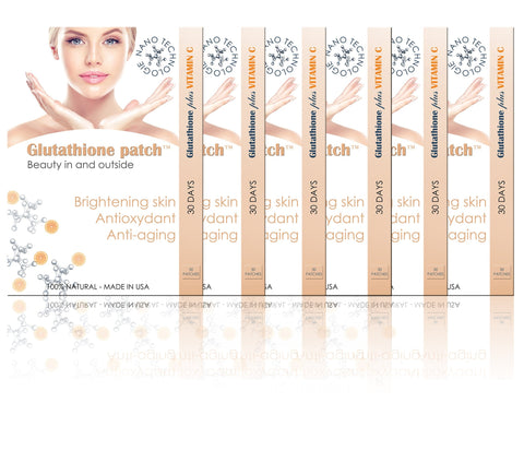 Glutathion vitamine c éclaircissant antioxydant anti-age 180 patch