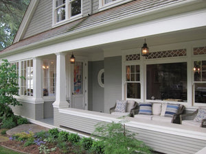 Scenic Front Porch Extension