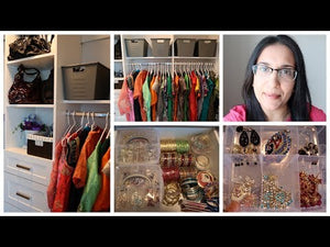 Walk In Closet Tour - My Punjabi Suit Collection - Canadian Born Indian