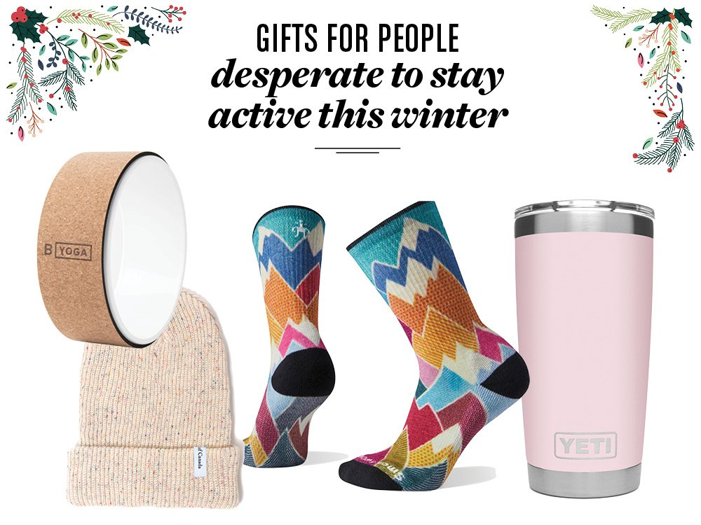 Gifts for winter fitness enthusiast
