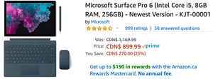Amazon Canada Deals: Save 23% on Microsoft Surface Pro 6 + 35% on LeapBuilders Soar & Zoom Vehicles + 33% on Original Detangler Disney Princess Collection + More Offers