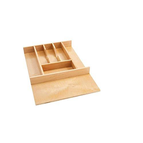 Rev-A-Shelf 4WCT-1SH Small Natural Maple Wood 7 Compartment Cutlery Tray Insert