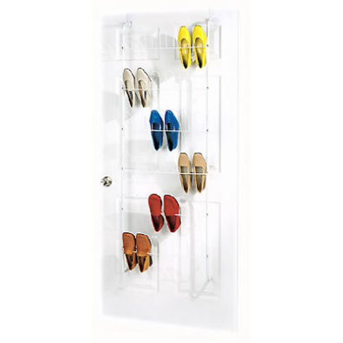 Whitmor 18 Pair Over the Door Shoe Rack
