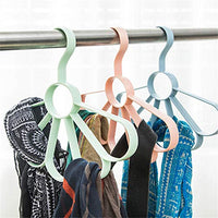 Zhao Xiemao Scarf Frame Silk Towel Rack Multi-Function Hangers Tie Belt Shelf Belt Loop Storage Rack, 3 Pcs.