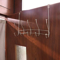 Explore vibrynt over the door hook rack heavy duty organizer hooks over door hanger for clothes coats towels hats or handbags