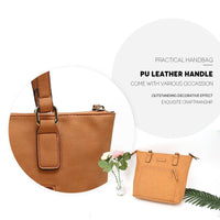 Selection tote bag angelinas palace shoulder bag organizer insert waterproof handbag pu leather sturdy zipper top handle purse women bags carry for office school travel shopping oyster