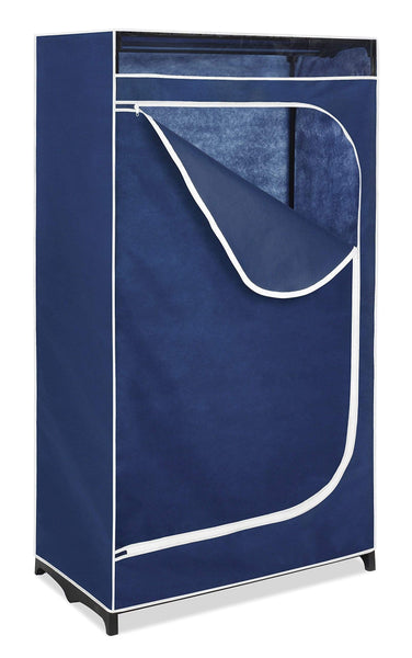 Results whitmor clothes closet freestanding garment organizer with sturdy fabric cover