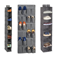 3-Piece Closet Organization Kit, Grey