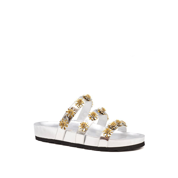 Berkley Daisy Slide - Silver/Gold