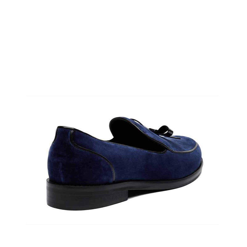 Keaton Loafer - Blue Velvet