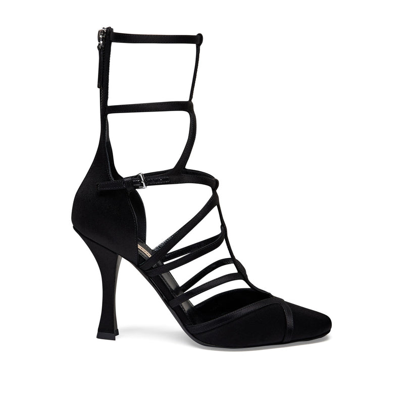 Multi Strap Sandal - Black