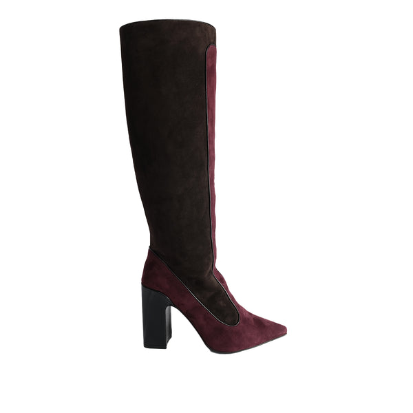 Farrah Boot - Bordeaux Brown