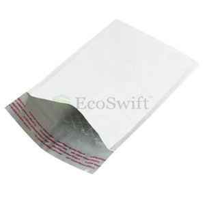 EcoSwift Self-Seal Poly Bubble-Lined Mailers #000 - 4 x 8""