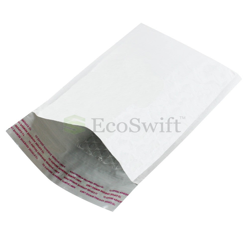 EcoSwift Self-Seal Poly Bubble-Lined Mailers #000 - 4 x 8