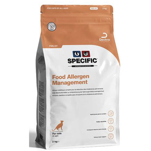 Specific FDD-HY Food Allergen Management Cat Food-Allergy Management Cat Food-PDSA Pet & Gift Store
