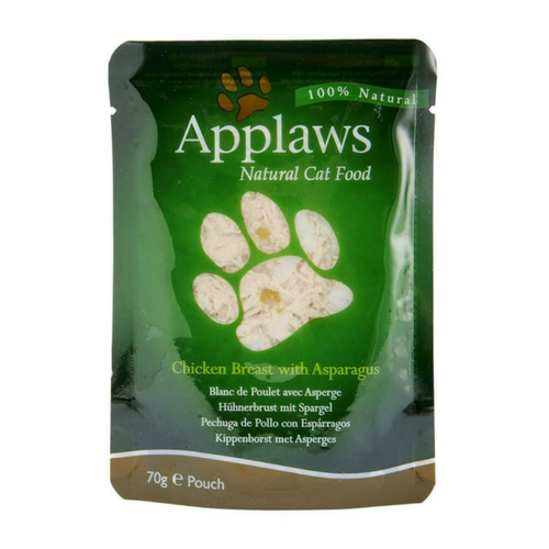 Applaws Chicken Breast and Asparagus Adult Cat Food - PDSA Pet Store