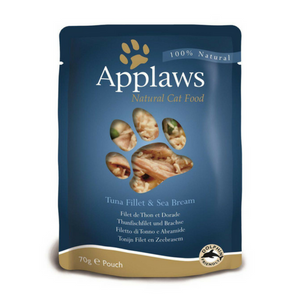 Applaws Tuna Fillet with Sea Bream Adult Cat Food-Cat Food-PDSA Pet & Gift Store