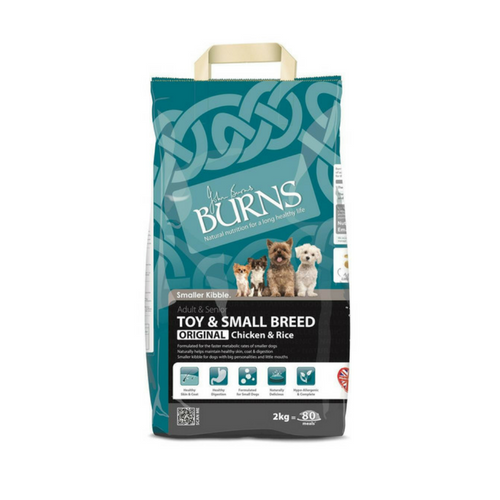 Burns Toy/Small Breed Chicken Dog Food - PDSA Pet Store