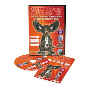 Clix Noises and Sounds CD-Dog Training CD-PDSA Pet & Gift Store