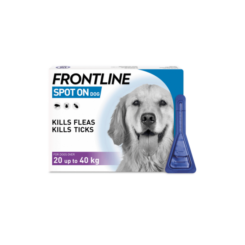 Frontline Spot On Flea And Tick Control For Dogs - 1 Pack