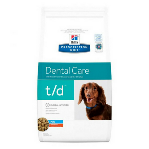 Hills Prescription Diet Dental Care t/d Mini Dog Food