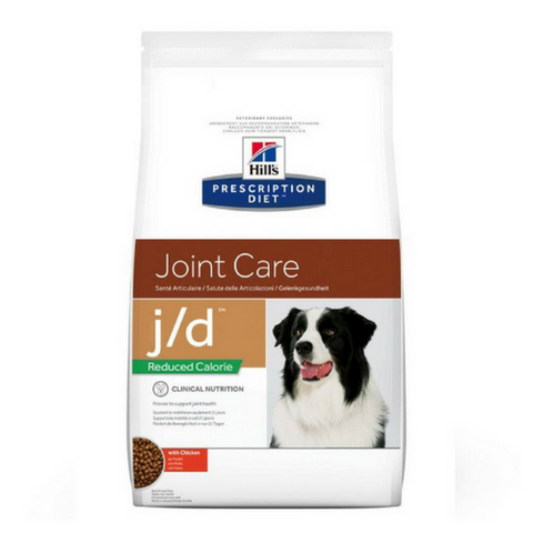 Hills Prescription Diet Reduced Calorie j/d Dog Food