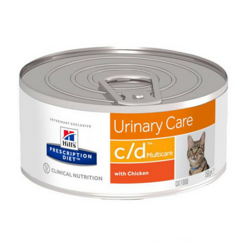 Hills Prescription Diet c/d Multicare Cat Food-Cat Food-PDSA Pet & Gift Store