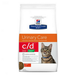 Hills Prescription Diet c/d Urinary Stress Reduced Calorie Cat Food-Cat Food-PDSA Pet & Gift Store