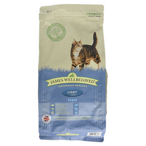 James Wellbeloved Light Fish & Rice Cat Food