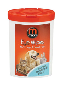 Mikki Eye Wipes-Eye Wipes-PDSA Pet & Gift Store