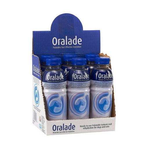 Oralade Rehydration Fluid (6 x 500ml)-Rehydration Fluid-PDSA Pet & Gift Store