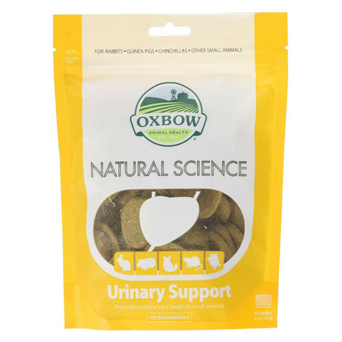 Oxbow Natural Science Urinary Support Tablets - PDSA Pet Store