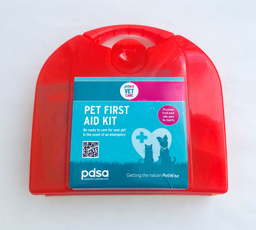PDSA Vet Care - Pet First Aid Kit
