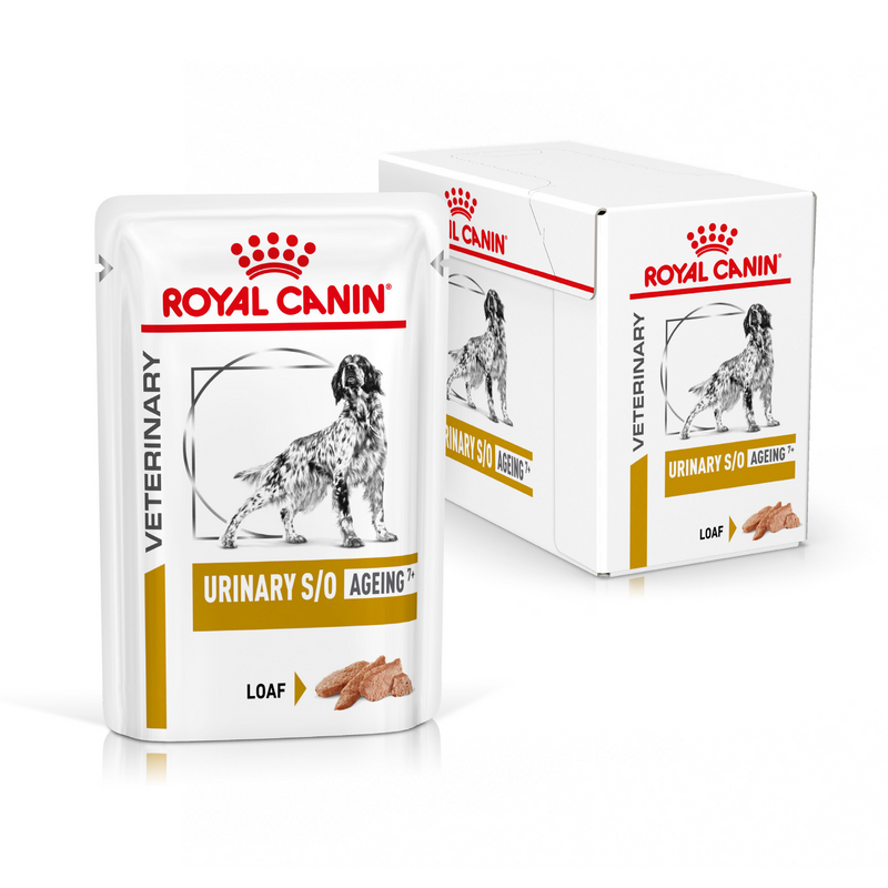 ROYAL CANIN® Canine Urinary S/O Ageing 7+ Loaf Wet Dog Food