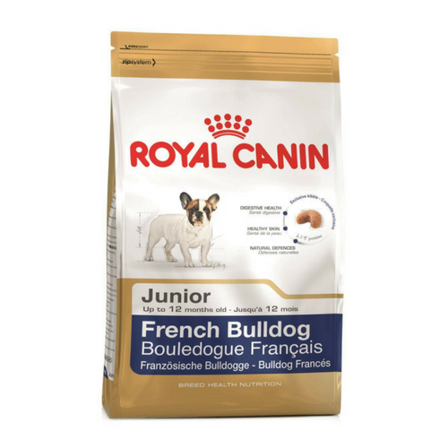 Royal Canin Breed Health Nutrition Canine French Bulldog Junior-French Bulldog Food-PDSA Pet & Gift Store
