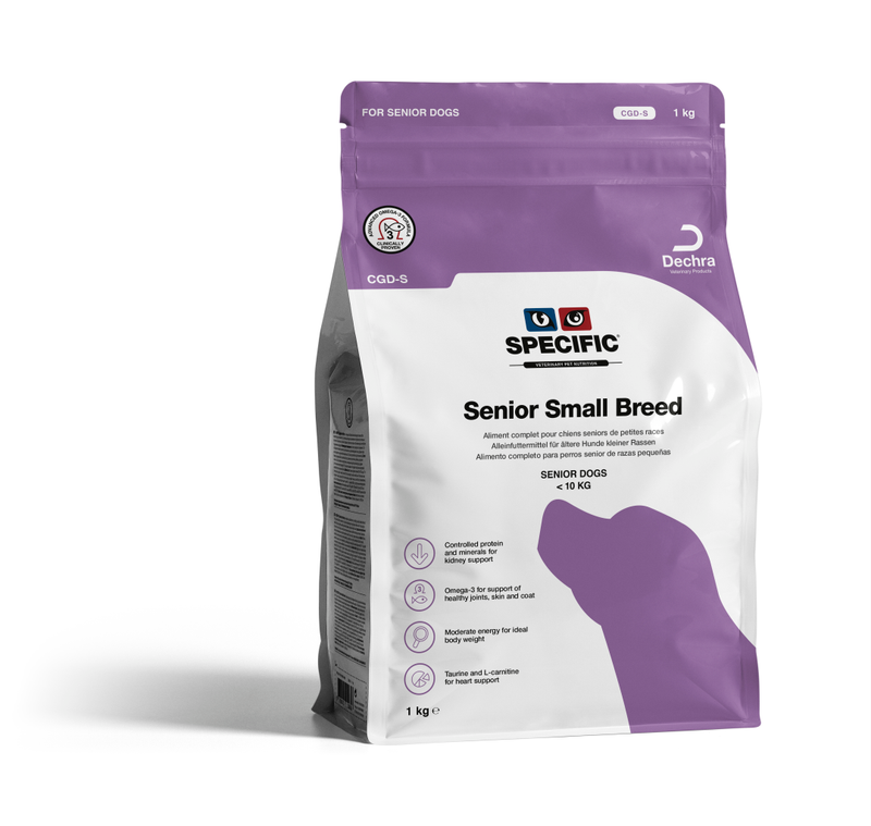 Specific CGD - S | Senior Dog Food for Small Breeds