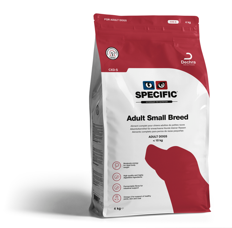 Specific CXD-S Adult Dog Food for Small Breeds - PDSA Pet Store