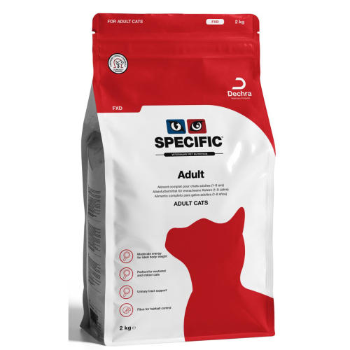 Adult Cat Food | Specific FXD - 2kg - PDSA Pet Store