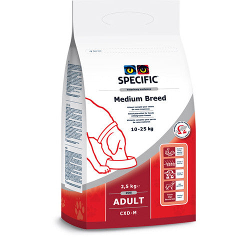 Specific CXD-M Adult Medium Breed Dog Food-Adult Medium Dog Food-PDSA Pet & Gift Store