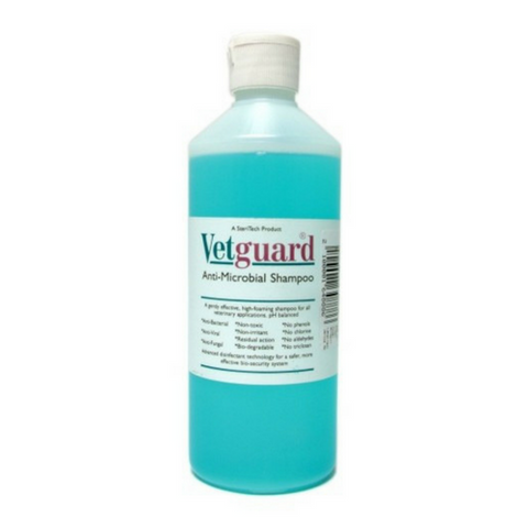 Vetguard Antimicrobial Shampoo-Animal Shampoo-PDSA Pet & Gift Store