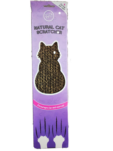 Cardboard Cat Scratcher - PDSA Pet Store