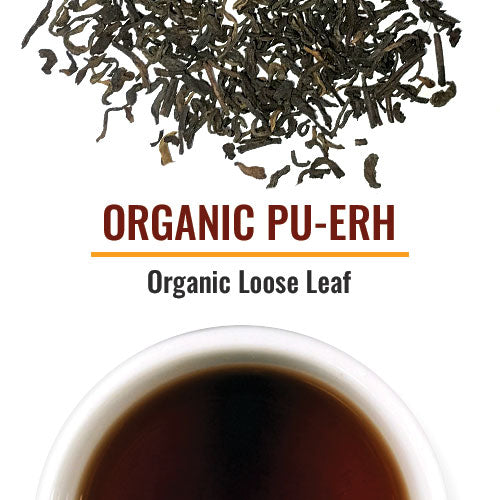 Organic Pu-Erh Teas This is a tea named after the Pu-erh region in Yunnan. They have been aged. Leaves from ancient old forests with tall tea trees are often the origin of this tea. The flavor is earthy and sometimes considered an acquired taste.