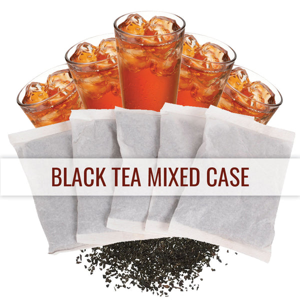 Black Tea Mixed Case  - 1 Gallon Iced Teas
