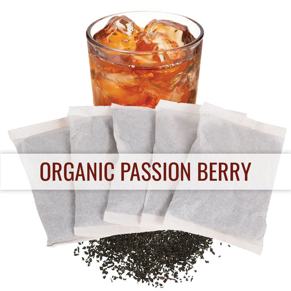 Organic Passion Berry - 1 Gallon Iced Tea