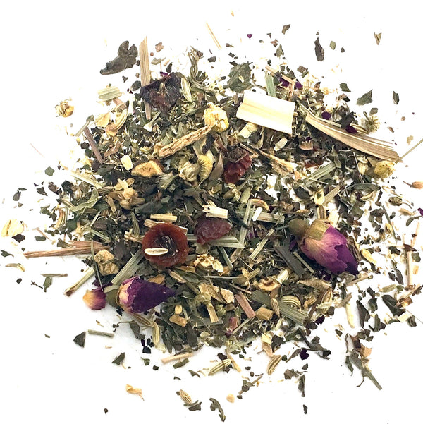 HERBAL BLEND WITH ROSE PETALS, CHAMOMILE AND LICORICE