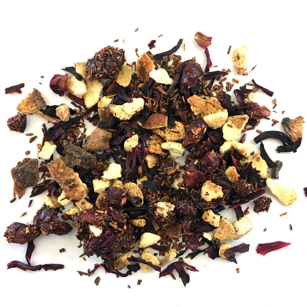ROOIBOS WITH CHUNKS OF CRANBERRIES AND ORANGE PEEL