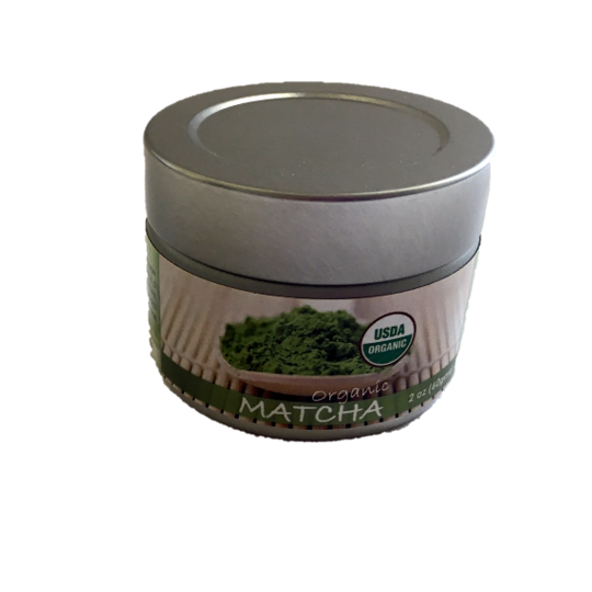 CANISTER OF 2 OUNCES OF ORGANIC JAPANESE MATCHA
