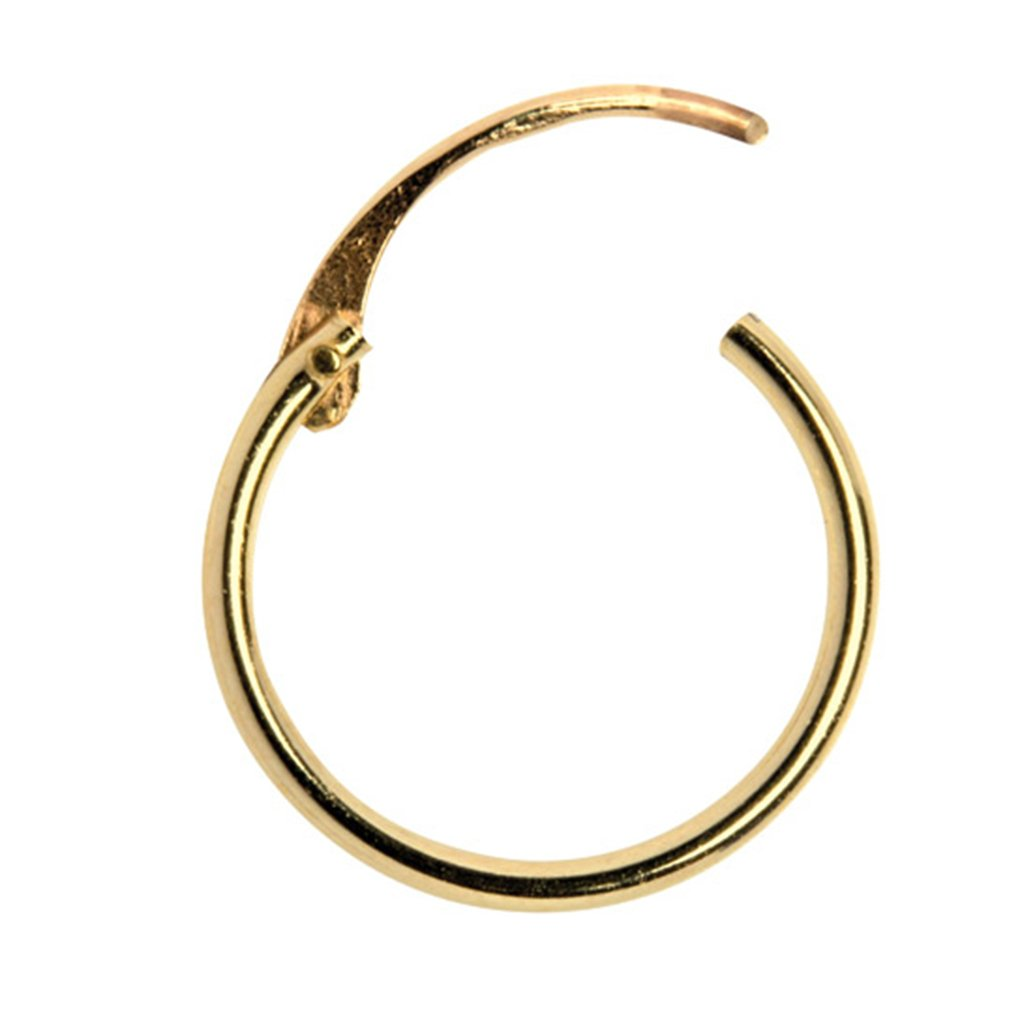 Small Hoop Earrings, 9ct Yellow Gold